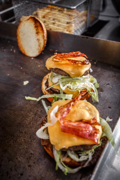 Burgerplatte