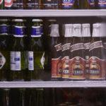 Getränke im Kühlschrank